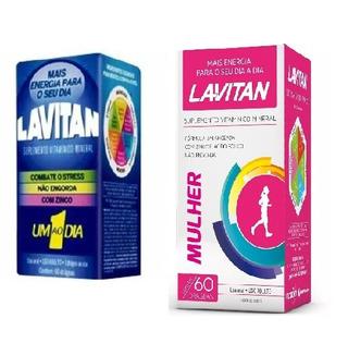 Polivitaminico Lavitan Mulher 60 Comp + Lavitan Az 60 Comp X