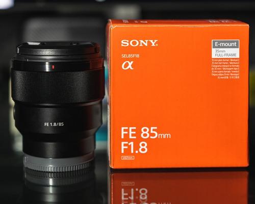 Lente Sony 85mm F1.8 E-mount