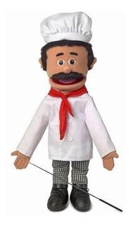 25 Chef Luigi Cuerpo Completo Marioneta De Estilo Ventrilocu