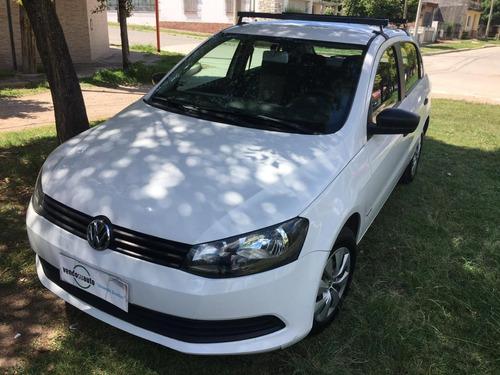Imagen 1 de 15 de Volkswagen Gol Trend 1.6n Pack 1 5 Ptas. Mt / Nafta / 2014