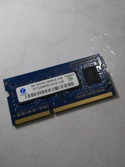 Memória Ram Notebook 2gb Ddr3