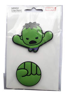 Iman Refrigerador Hulk Marvel Pack X2 Original