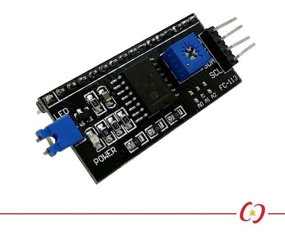 Módulo Serial I2c Para Display Lcd 16x2 E Display Lcd 20x4