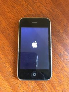 iPhone 3gs Preto 8gb Com Cabo De Energia E Capinha