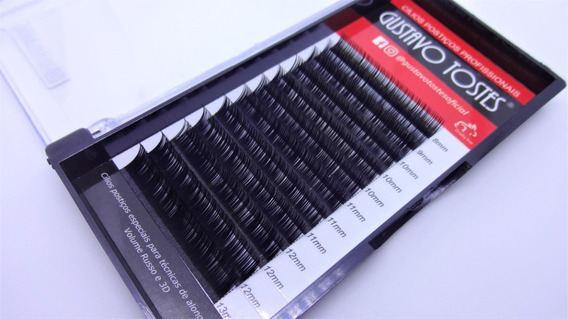 Cílios Alongamento Fio A Fio 0.15 C 8,9,10,11,12,13mm