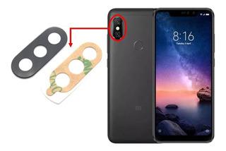 Lente Vidro Camera Traseira Xiaomi Note 6 Pro