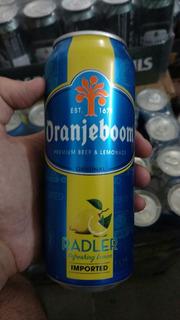 Cerveza Oranjeboom Limon Lata 500cc Importada Holanda Hudson