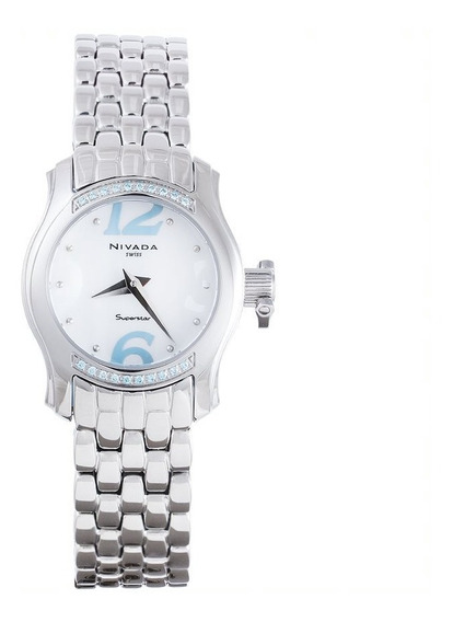 Reloj Nivada Superstar Nvng3162lacbaa Dama Original