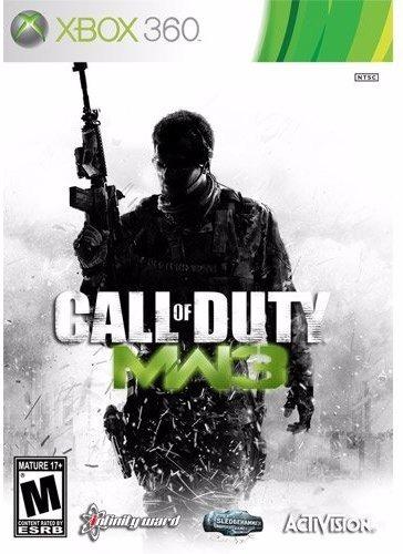 Call Of Duty, Modern Warfare 3 - Xbox 360 - Mídia Original