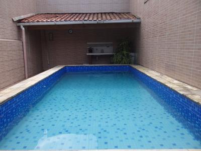 Casa Com Piscina Em Mongaguá R$ 250 Mil Ref 6615