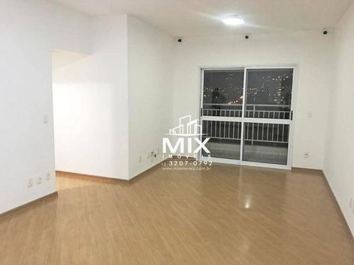 Apartamento Com 3 Dormitórios À Venda, 104 M² Por R$ 545.000 - Centro - Taubaté/sp - Ap0966