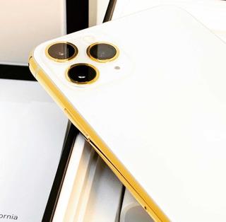 Apple iPhone 11 Pro Max 512 Gb Bañado En Oro 24 Quilates Msi