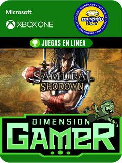 Samurai Shodown - Xbox One Modo Local + En Linea