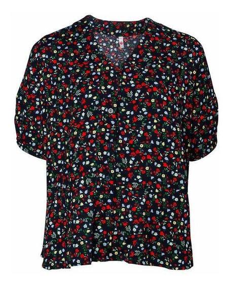 Camisa Floreada Talles Grandes/especiales