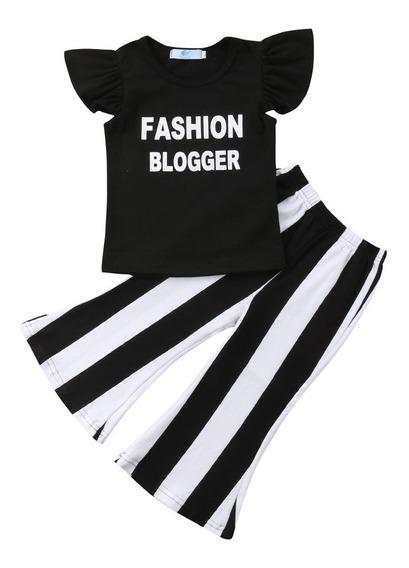 Conjunto Infantil Menina Importado Blogueira