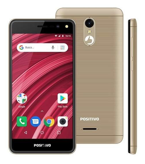 Smartphone Positivo Twist 2 Fit S509 Quad-core Dual Chip And