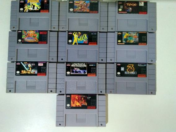 Jogos De Super Nintendo Clássicos! Preço Unitário!