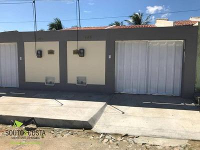 Casa Residencial À Venda, Lameirão, Maranguape. - Ca0174