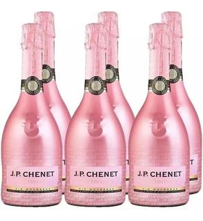 Espumante J.p Chenet Ice Rose Caixa Com 6 X 750 Ml Demi Sec