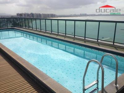 Frente Para O Mar De Camburi - 1 Quarto Apart Hotel - Codigo: Fl0004 - Fl0004