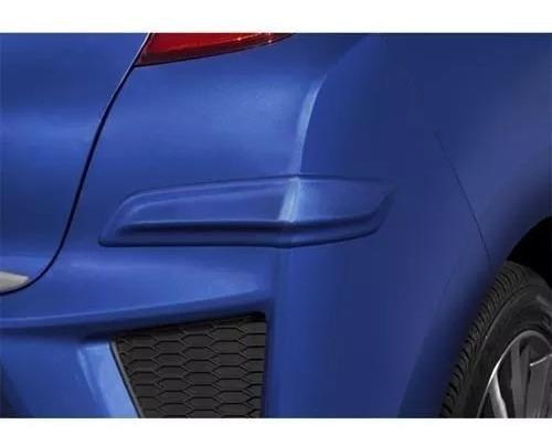 Protetor Lateral Parachoque Traseiro Honda Fit 2015 A 2016