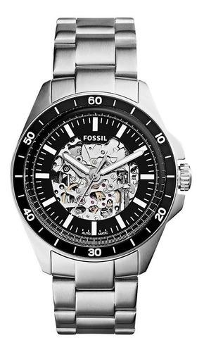 Relógio Fossil Masculino Automático Esqueleto Me3146/1pn