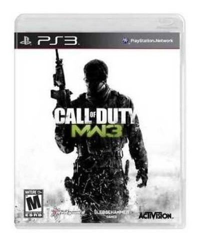 Jogo Call Of Duty Modern Warfare 3 - Ps3 - Mídia Física