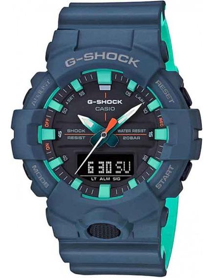 Relogio Casio G-shock Ga-800cc-2adr + Garantia + Nota Fiscal