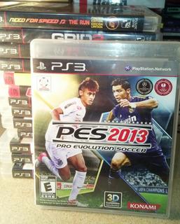 Pro Evolución Soccer Pes 2013 Ps3 Excelente