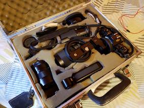 Câmera Analógica Canon A1 Dos Dateur A Com Lentes