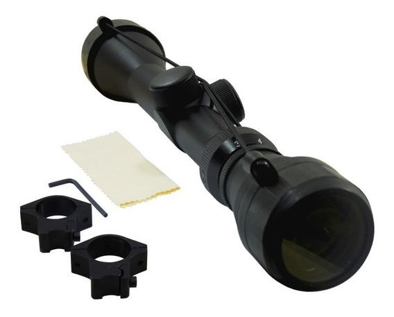 Mira Telescopica Ajustable Rifle Alto Poder 3-9x40 Monturas