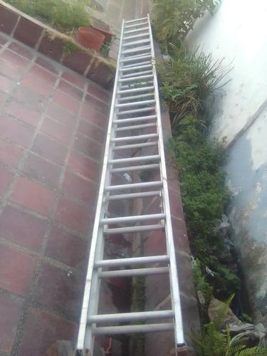 Escalera Estencible De Aluminio 36 Peldaños