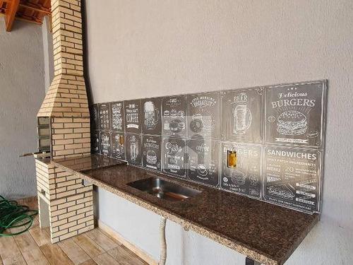 Imagem 1 de 12 de Casa Com 3 Dormitórios À Venda, 121 M² Por R$ 340.000,01 - Vila Tibério - Ribeirão Preto/sp - Ca0747