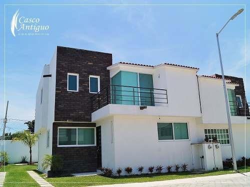 Estrena Hermosa Casa En Cocoyoc, Morelos