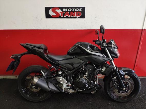 Yamaha Mt03 Mt-03 Mt 03 321 Abs 2019 Preta Preto