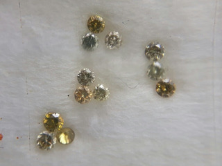 Lote Diamantes Naturais Vvs 0,22ct L2