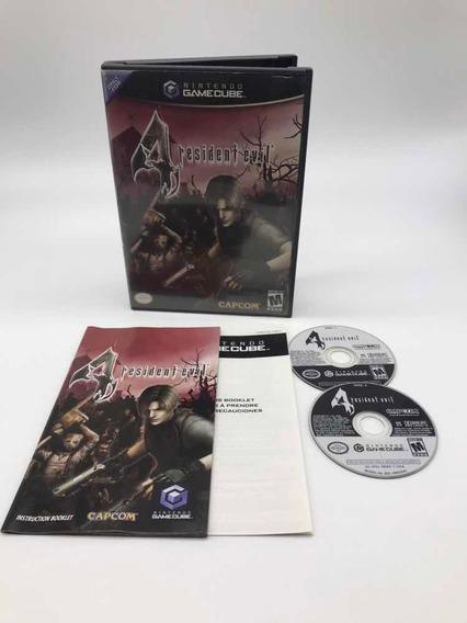 Resident Evil 4 Nintendo Gamecube Original Americano Cib