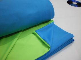 Tela Chroma Key / Dupla Face / 2 Em 1 / Azul E Verde /