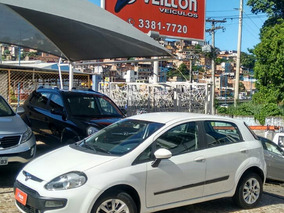 Fiat Punto 1.4 Attractive Flex 5p 2013 Branco Unico Dono