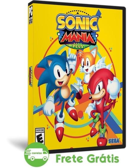 Sonic Mania Plus Pc + Encore Dlc Mídia Física ( Dvd )