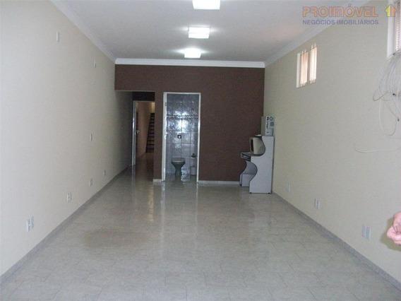 Casa Comercial À Venda, Jardim Santa Tereza, Itu. - Ca0463