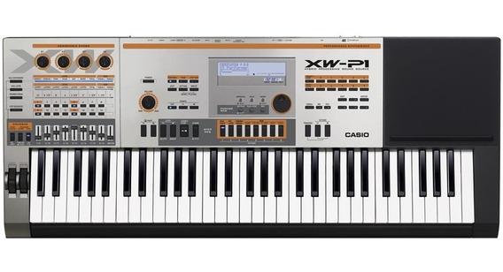 Teclado Musical Casio Xw P1 Com Fonte Sintetizador Xwp1