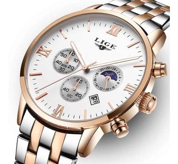 Relógio Social Executivo - Promoção Sem Juros - Lançamento