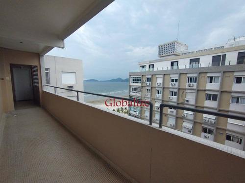 Apartamento Com 1 Dormitório À Venda, 51 M² Por R$ 310.000,00 - Boqueirão - Santos/sp - Ap0833