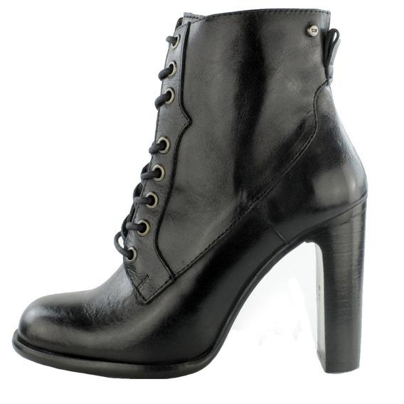 Zapatos Dama Estilo Botín Casual Cómodo I127292 Negro Levi