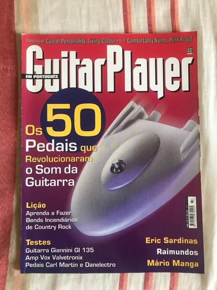 Revista Guitar Player N°77 50 Pedais Incríveis Setembro 2002