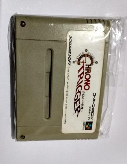 Jogo Original Chrono Trigger Rpg Super Famicon Nintendo