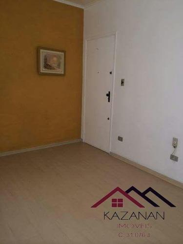 Apartamento 3 Dormitórios E Dependência Empregada Ponta Da Praia Santos Sp - 1273