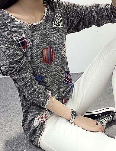 Blusas Camisas Estilo Artístico Casual