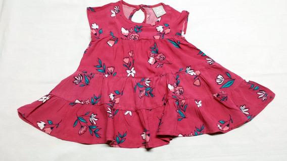 Vestido Bebê Em Viscose Da Hering - Cód. 2630